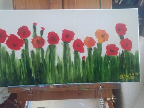 Poppies! It must be Spring soon!!