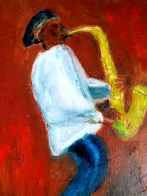 Saxophone on the Square