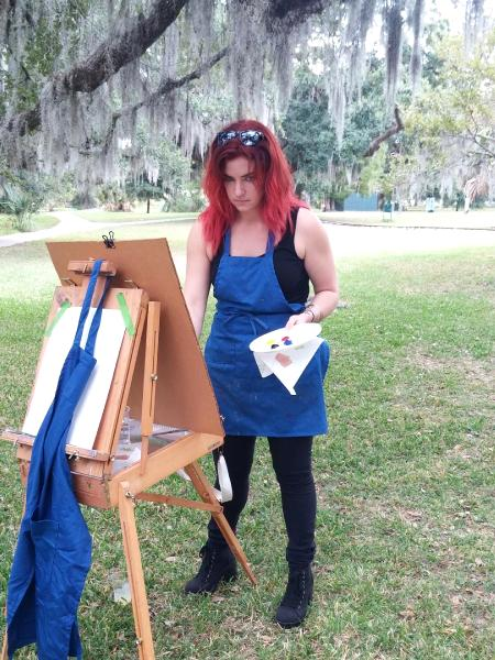 City Park ideal for painting outside