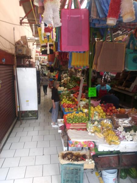 Stall in Mexico